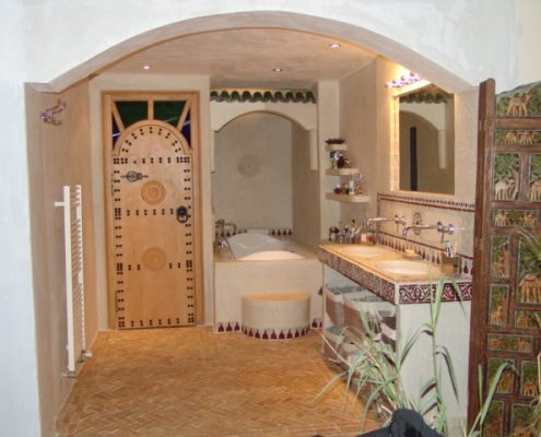 Awesome Salle De Bain Marocaine Tadelakt Contemporary - Awesome ...