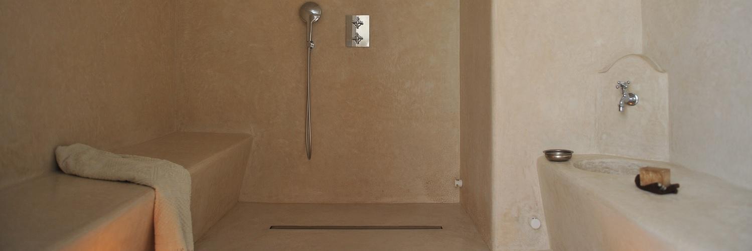 hammams et salles de bain en tadelakt de marrakech. Black Bedroom Furniture Sets. Home Design Ideas
